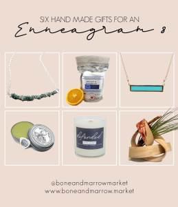 Six Handmade gifts for an Enneagram 8