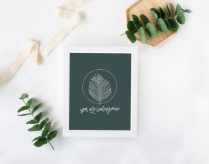 Enneagram 6 Card by Made Whole Collective
