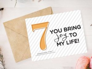 Enneagram 7 Card by Pure Endeavors