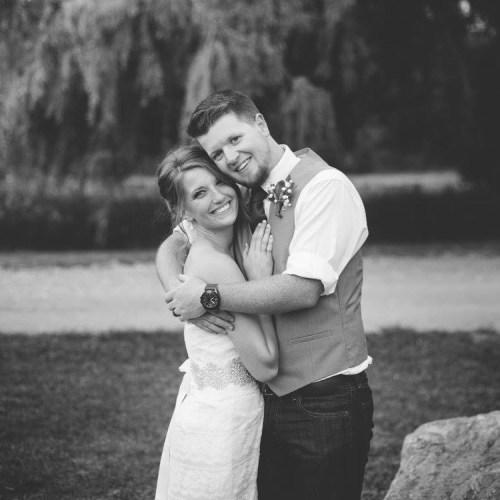 Kaitlin and Lance Wedding Photo