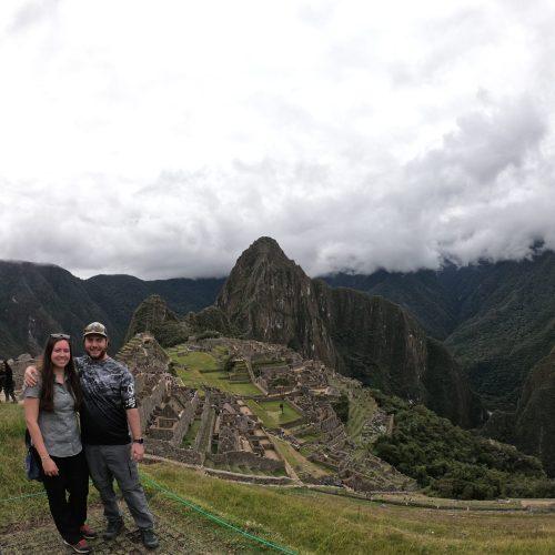Paul and Rebekah in Machu Pichu
