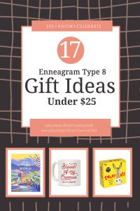Enneagram Type 8 Gifts Under $25