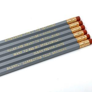 Enneagram 1 Pencils