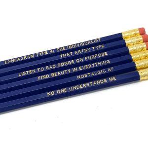 Enneagram 4 Pencils