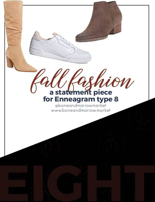 Fall Fashion for Enneagram Type 8