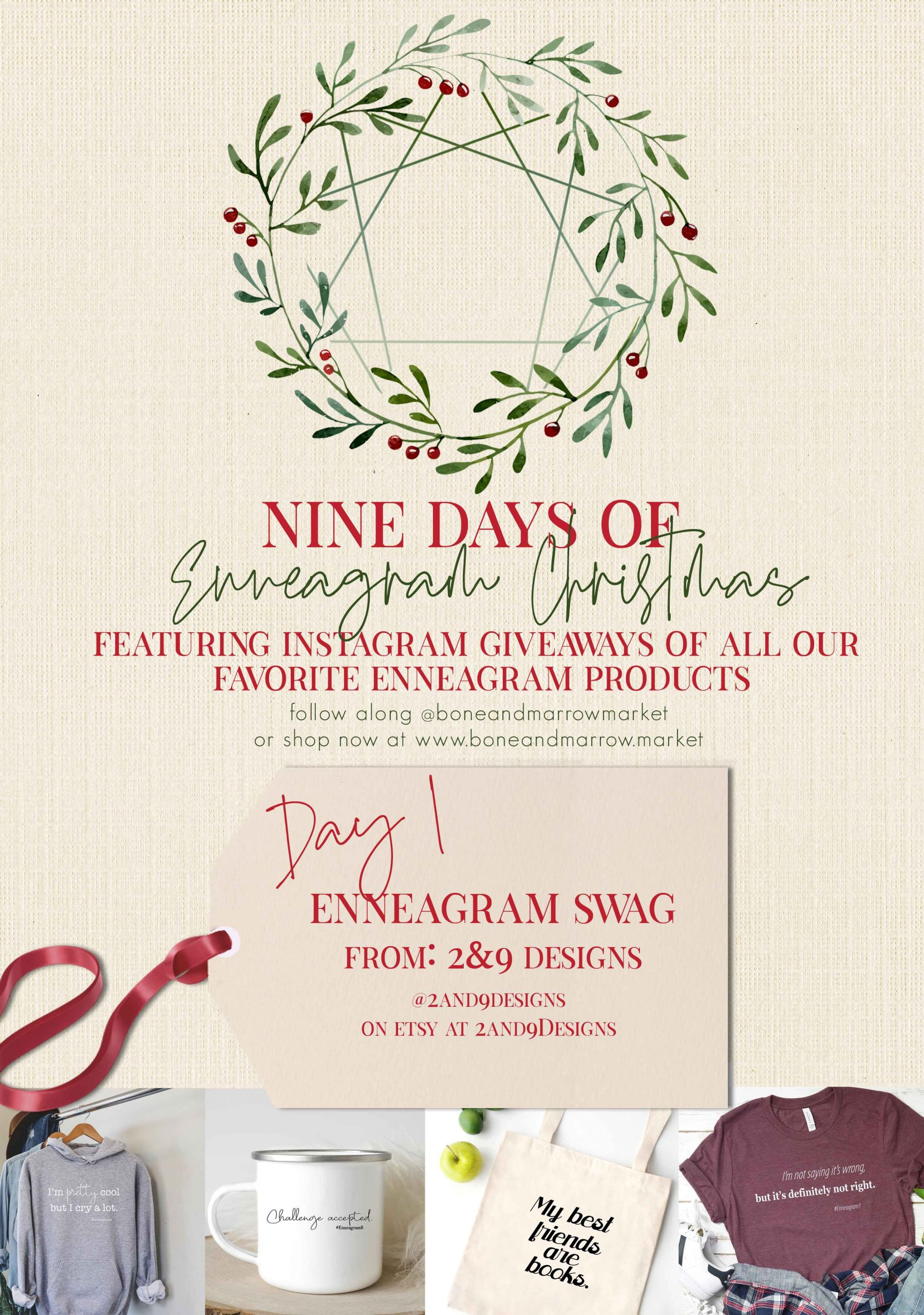 Enneagram Swag 2&9 Designs