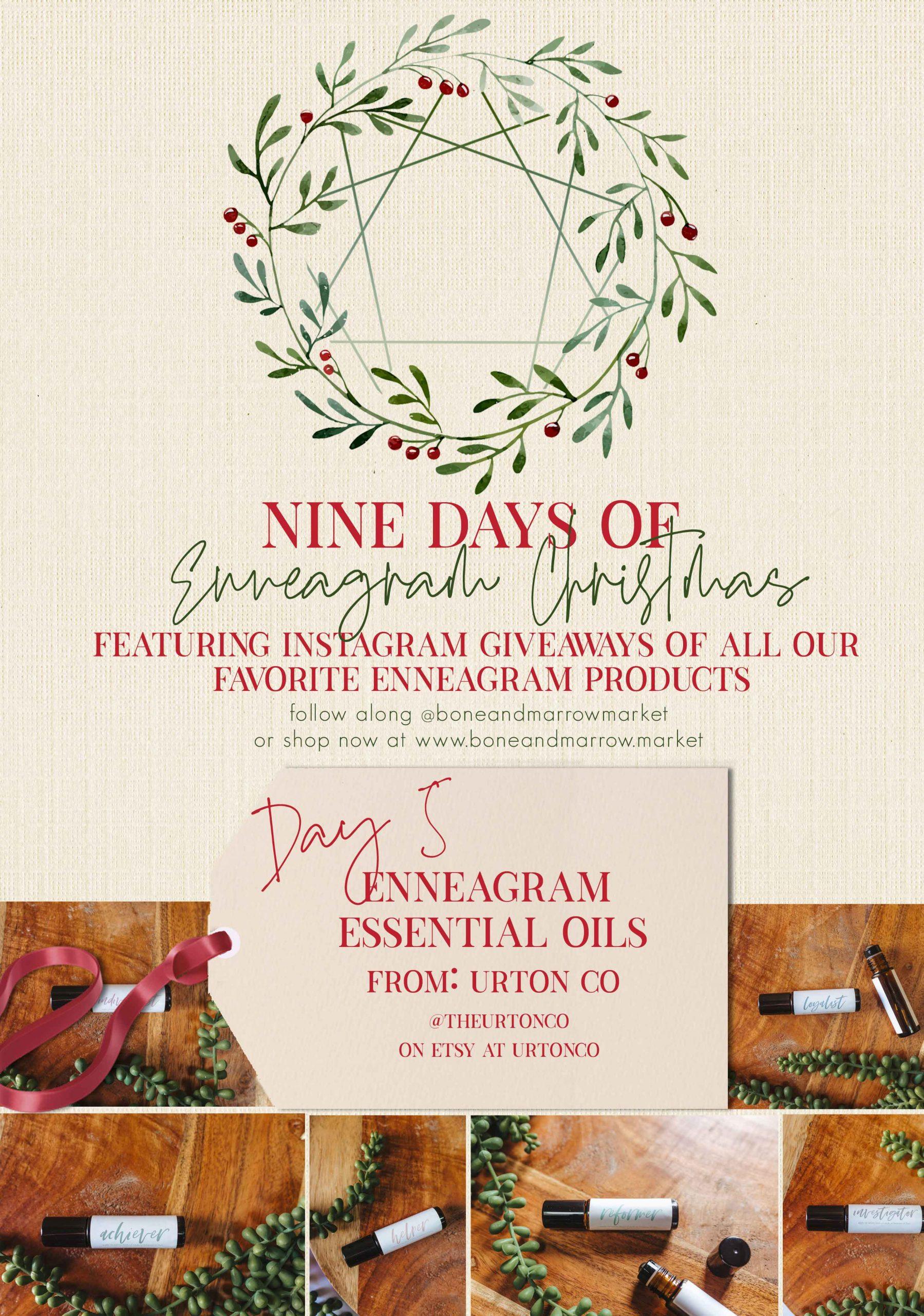 Enneagram Essential Oils | 9 Days of Enneagram Christmas