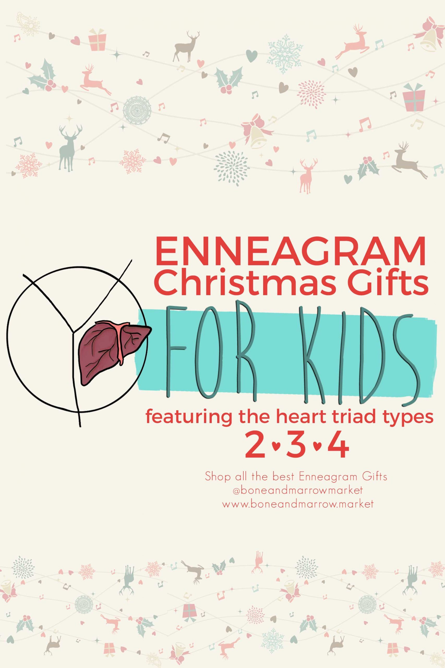 Christmas Enneagram Gifts for Kids   Heart Triad