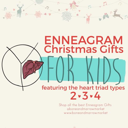 Christmas Enneagram Gifts for Kids | Heart Triad