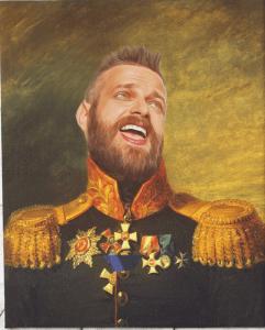 Personalized Royal Portrait