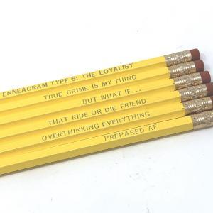 Enneagram 6 Pencils