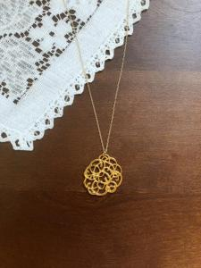 Enneagram 7 Necklace by Hamrick Ave