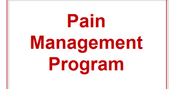 What Is Pain Management Program?