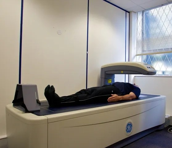 DEXA scan in use