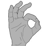 Patients with Anterior Interosseous Nerve Syndrome are not able to make this gesture