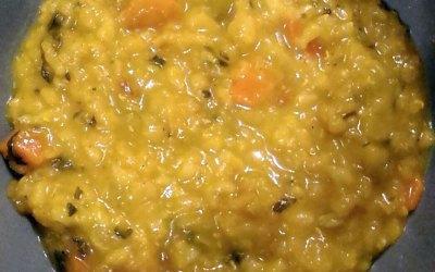 Mediterranean Red Lentil Soup by Fabienne Javadli