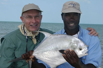 Hermon with guest and permit