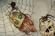 spiders. . . eesh. . .