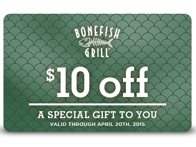 $10 Off Spring Coupon