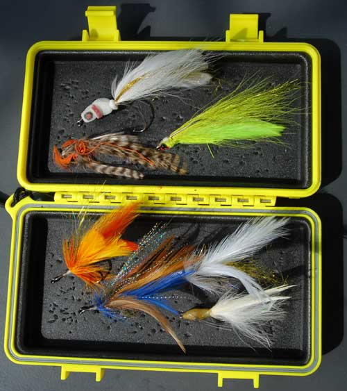 Steve Huff's fly Box