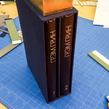 Мастер-класс по переплётному делу - коробки для книг (3)