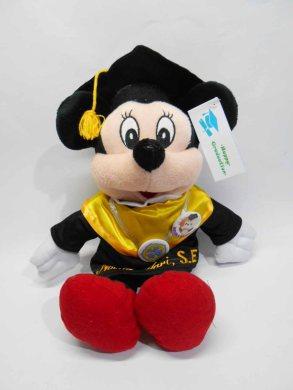 boneka wisuda mickey mini mouse bordir di baju 2