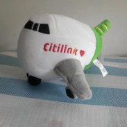 boneka pesawat citilink