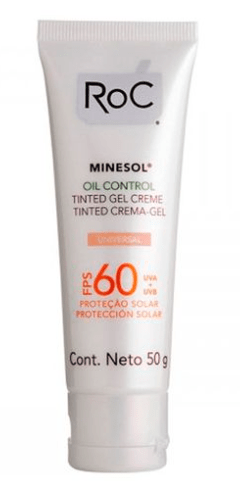 Minesol Oil Control Tinted embalagem