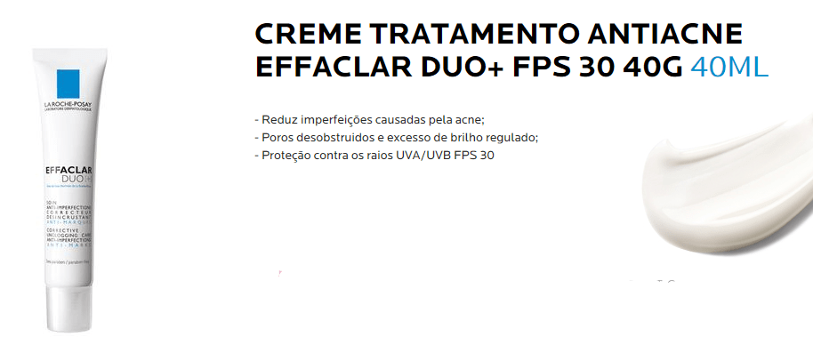 Effaclar Duo Antiacne FPS30