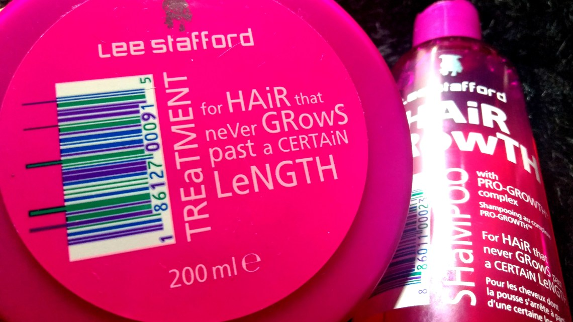 Xampu e máscara Hair Growth (Lee Stafford): Resenha