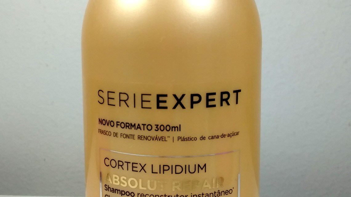 Shampoo L'Oréal Absolut Repair Cortex Lipidium – resenha