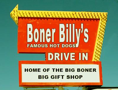 vintage posters for kitchen backsplash boner billy's famous hot dogs -
