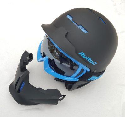 Ruroc black ice ski helmet e1549545009529
