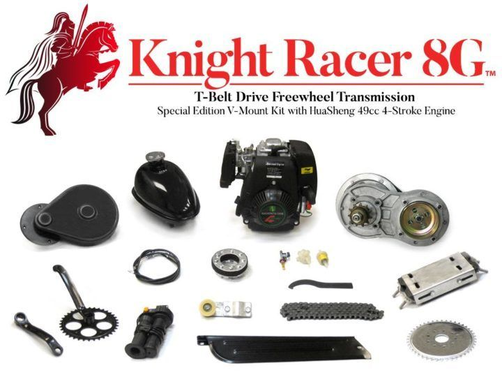 Knight Racer Motorized Bike Kit