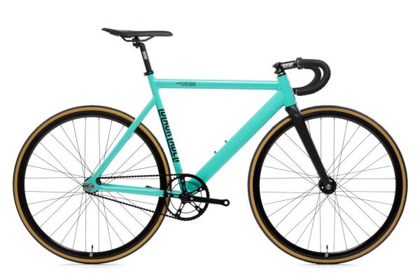 state bicycle co 6061 black label turquoise