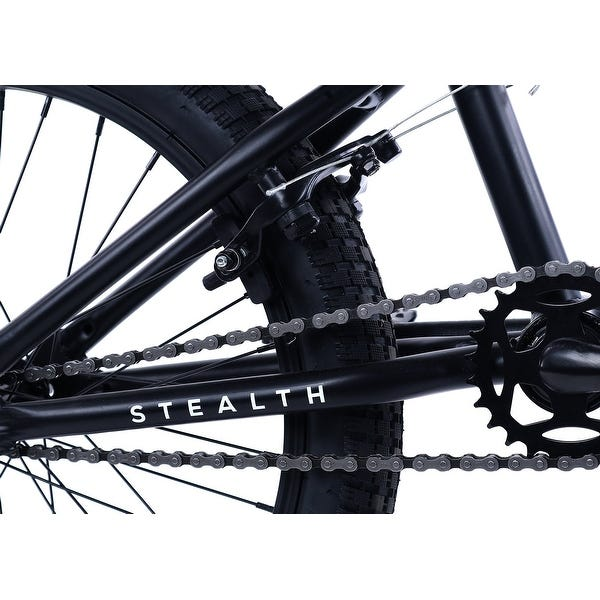Elite 20  BMX Stealth Black 1