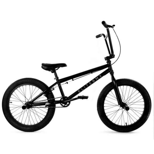 Elite BMX Stealth 20″ BMX Bike – Black 2
