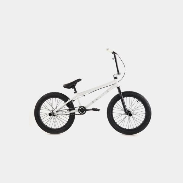 Elite BMX Stealth White