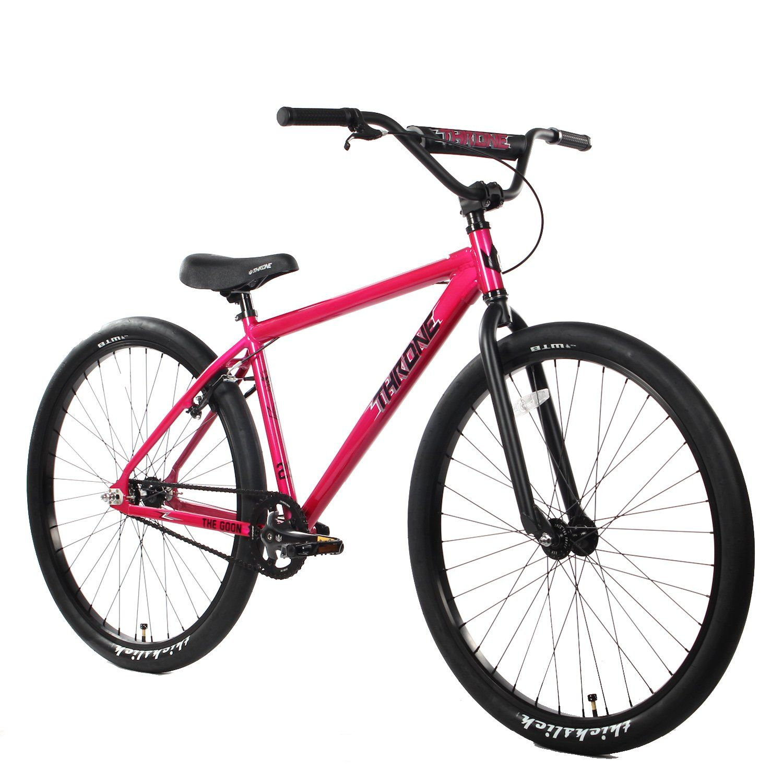 goon bmx throne bike inch cycles boneshaker 29er bikes purple bicycle mr