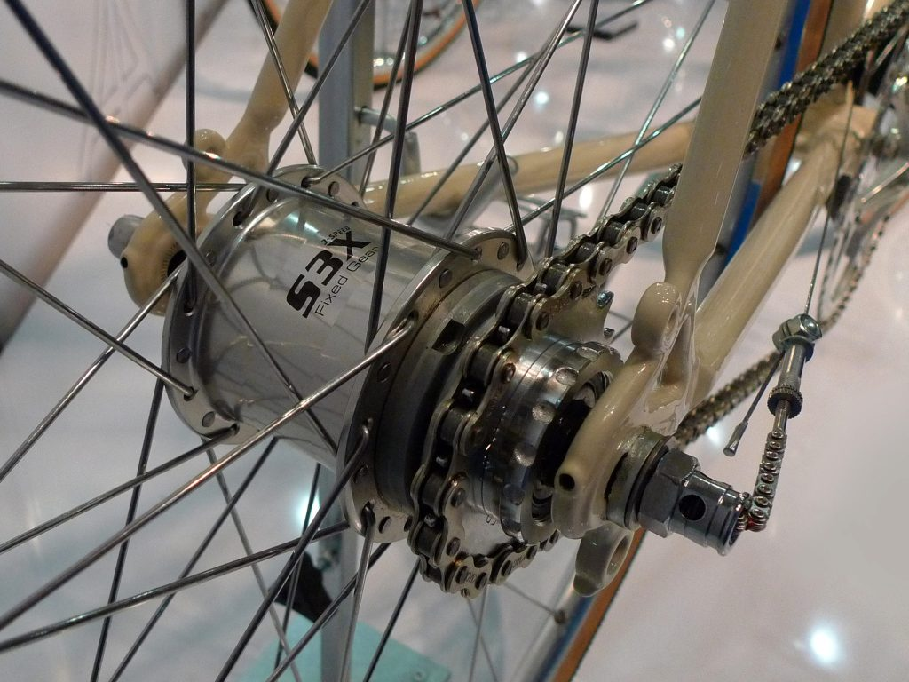 Internal 3 speed hub