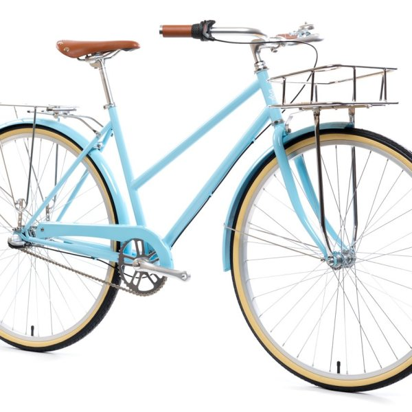 3 speed state bicycle co city bike azure blue 6