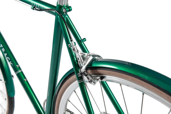 BT MY21 Oxbridge geared glossy emerald green 18