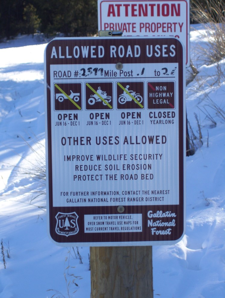 Trailhead Signs