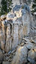 A high mark of quartzite
