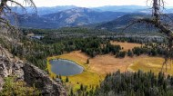 Lizard Lakes from the ridge
