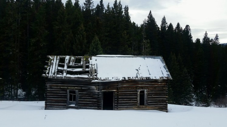One of the better cabins at the end of the Bear Canyon Trail