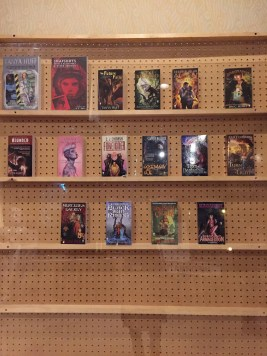 Guests of Honor display. My crucial book: Tad William's The Dragonbone Chair, via DAW Books
