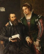 Vasari and His Wife