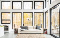 Why should I choose large windows for my home?