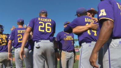 AAC Tournament   ECU 4, UCF 0   Still #1 by Brian Bailey (May 27, 2017   Clearwater, FL)